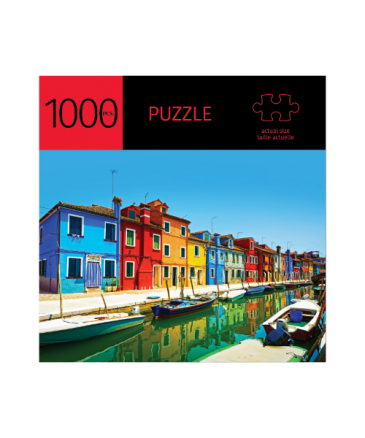 European Canal Jigsaw Puzzle 1000 piece Gifts