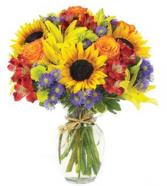 European Garden Bouquet Arrangement