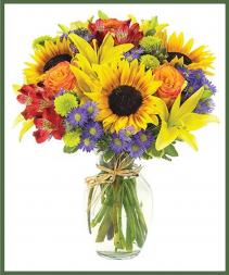Euro Garden Bouquet Item #BF82-11KM