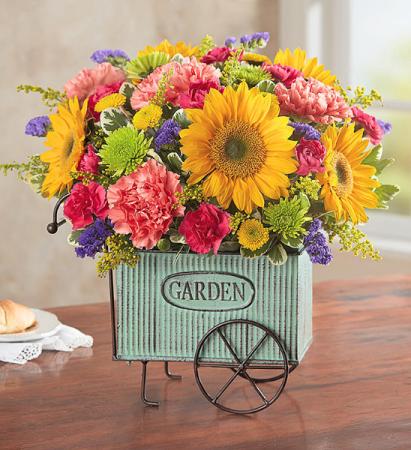 European Garden Cart