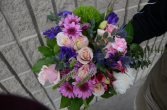 European Hand Tied Bouquet cut flowers
