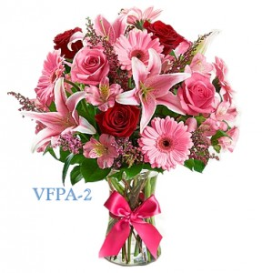 Impressive Pink Floral Arrangement