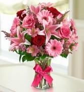 Our Sweet Romance Flower Arrangement