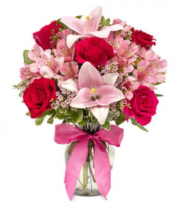 European Romance Vase Arrangement