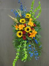 European Sunflower Spray