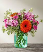 European Vintage Flower Arrangement
