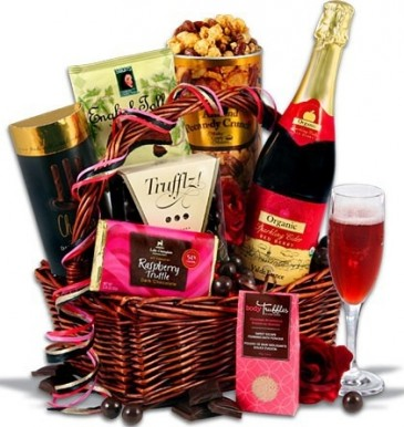 EVENING OF INDULGENCE GIFT BASKET