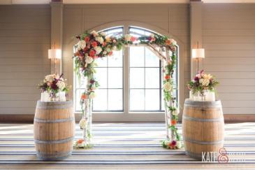 Event Decor Custom Arbor Decor and Barrell Bouquets