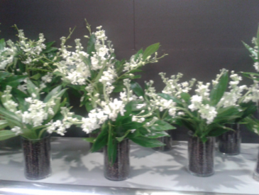 EVENT FLOWERS WHITE STOCKS AND GREENERY