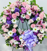 Ever Enchanting Standing Wreath