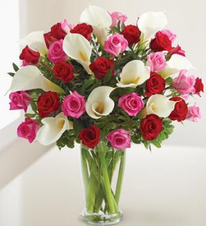 Ever lasing Love Vase Arrangement in Bethel, CT   BETHEL FLOWER MARKET OF STONY HILL