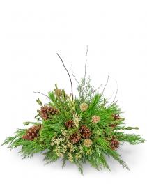 Evergreen Simplicity Flower Arrangement