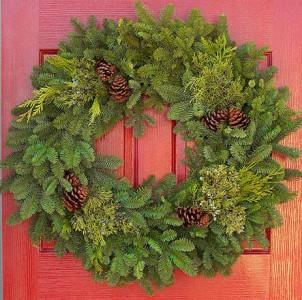 Evergreen Wreath Wreath
