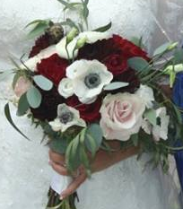 Everlasting Anemone Bridal Bouquet
