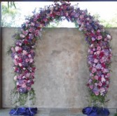 Everlasting Floral Arch Ceremonial