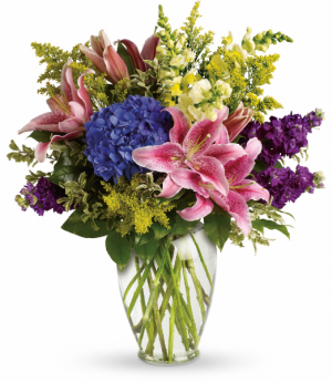 Everlasting Garden Fresh Arrangement in Tulsa, OK | THE WILD ORCHID FLORIST