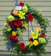 Everlasting Life Grapevine Wreath