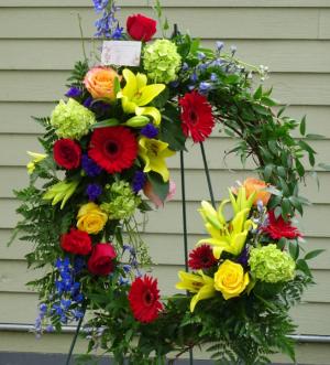 Everlasting Life Grapevine Wreath in Montgomery, NY | MONTGOMERY FLORIST