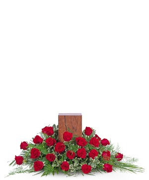 Everlasting Love Tribute Sympathy in Nevada, IA | Flower Bed