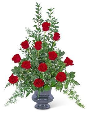 Everlasting Love Urn Sympathy in Nevada, IA | Flower Bed