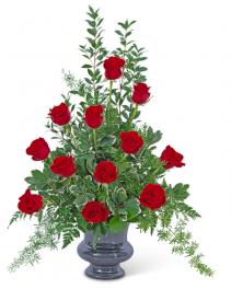 Everlasting Love Urn Sympathy Arrangement