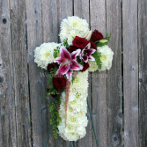 Everlasting Peace Cross Easel