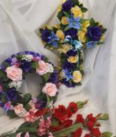 Everlasting Silk Tributes Sympathy,
