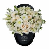 Everlasting White Flower Box