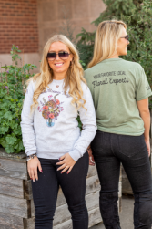 Every Bloomin' Thing Merch T-shirt and Crew Neck