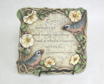 Every Dewdrop Plaque