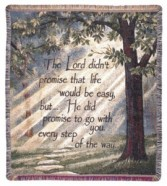 Every Step Throw Blanket/ Tapestry