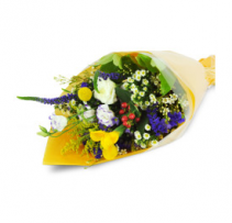 EVERYDAY MIX FLOWER - WRAPPED BOUQUET  DESIGNER CHOICE - CUT WRAPPED BOUQUET