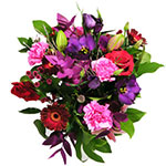 Exciting And Vibrant hand tied or vase