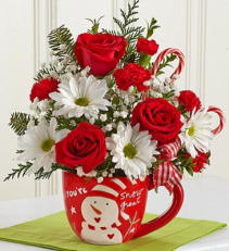 Exclusively at Flowers Today Florist You're Snow Great Keepsake Ceramic  Mug