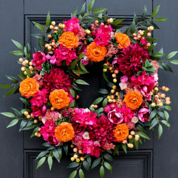 Exotic Beauty Wreath