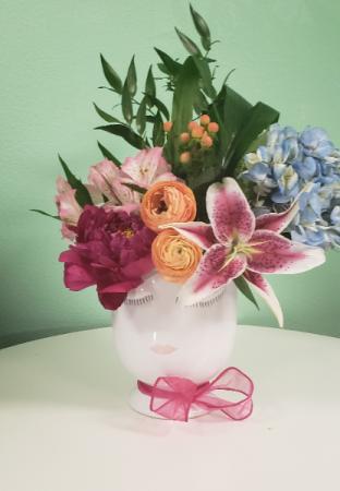 Exotic Celfie Celfie Vase Arrangement