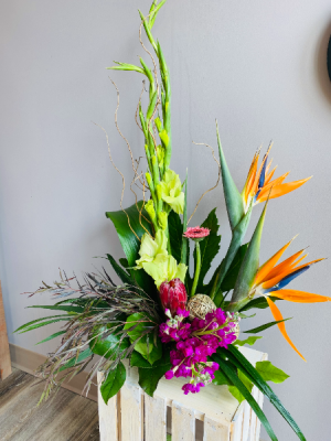 Exotic duo Flower Arrangement in Airdrie, AB | Flower Whispers