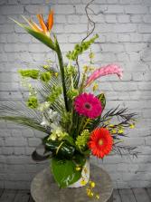 Exotic Escape Flower Arrangement