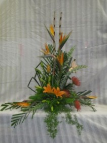 Exotic Expessions Funeral Arrangement