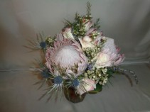 Giant Protea Bridal Bouquet