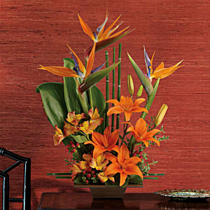 Exotic Grace T77-1A Fresh Arrangement in North Fort Myers, FL | North Fort Myers Florist