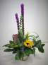 EXOTIC HARMONY FRESH FLOWER ARRANGEMENT