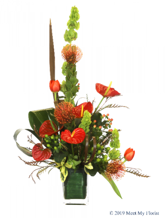Exotic Paradise Floral Arrangement