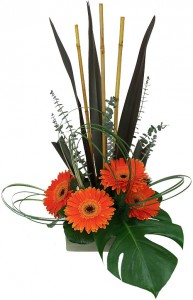 Exotic Splash High Style Arrangement