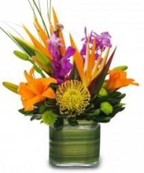Exotic Style Flower Arrangement