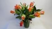 Exotic Tulips Designers Delight Mixed arrangement with Exotic Tulips