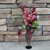 Exotic Winter Vase Arrangement