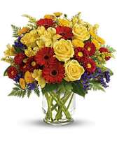 Explosive Blooms Flower Arrangement