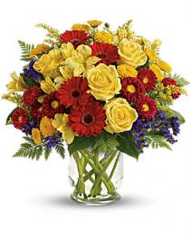 Explosive Blooms Flower Arrangement
