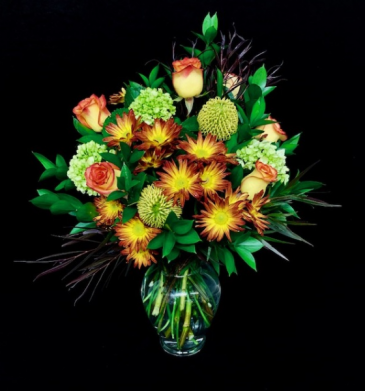Expression of Autumn Fall Design with High & Magic Roses